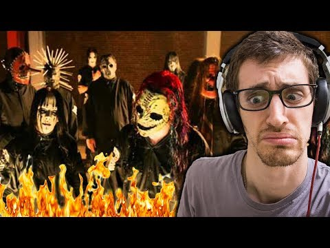 Slipknot - Psychosocial || HIP-HOP HEAD REACTS TO METAL!!!