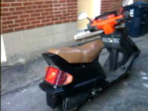 1984 Honda Elite 125 1984 Honda elite 125 - YouTube