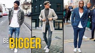 Белые кроссовки: с чем носить. Как стильно одеться весной? Мужской стиль весна 2018.