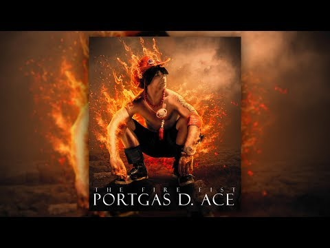 Photoshop Fire Manipulation Tutorial | Create Ace The Fire Fist Onepiece Poster