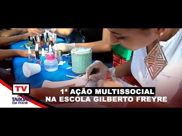 Ação Multissocial na escola Gilberto Freyre em Taboão da Serra