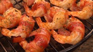 새우베이컨말이 / Bacon Wrapped Shrimp…