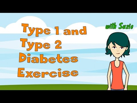 Type 1 and Type 2 Diabetes Exercise - Exercise and Diabetes