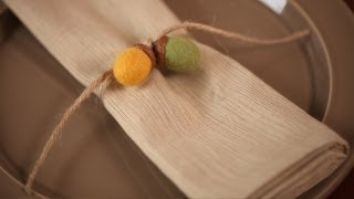 How To Make Felted Acorn Napkin Rings (kid Friendly Diy Craft) || Kin Parents