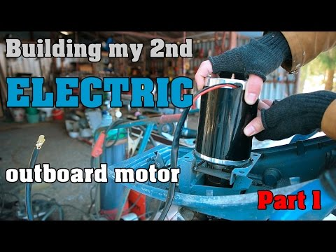 Building my 2nd electric outboard motor - Part 1