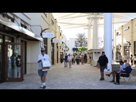 Shop the Palm Beach Outlets in West Palm Beach, Florida