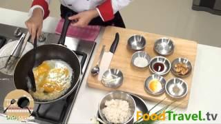 [thai Food] Garlic Fried Rice (kao Phad Kra Tiam)