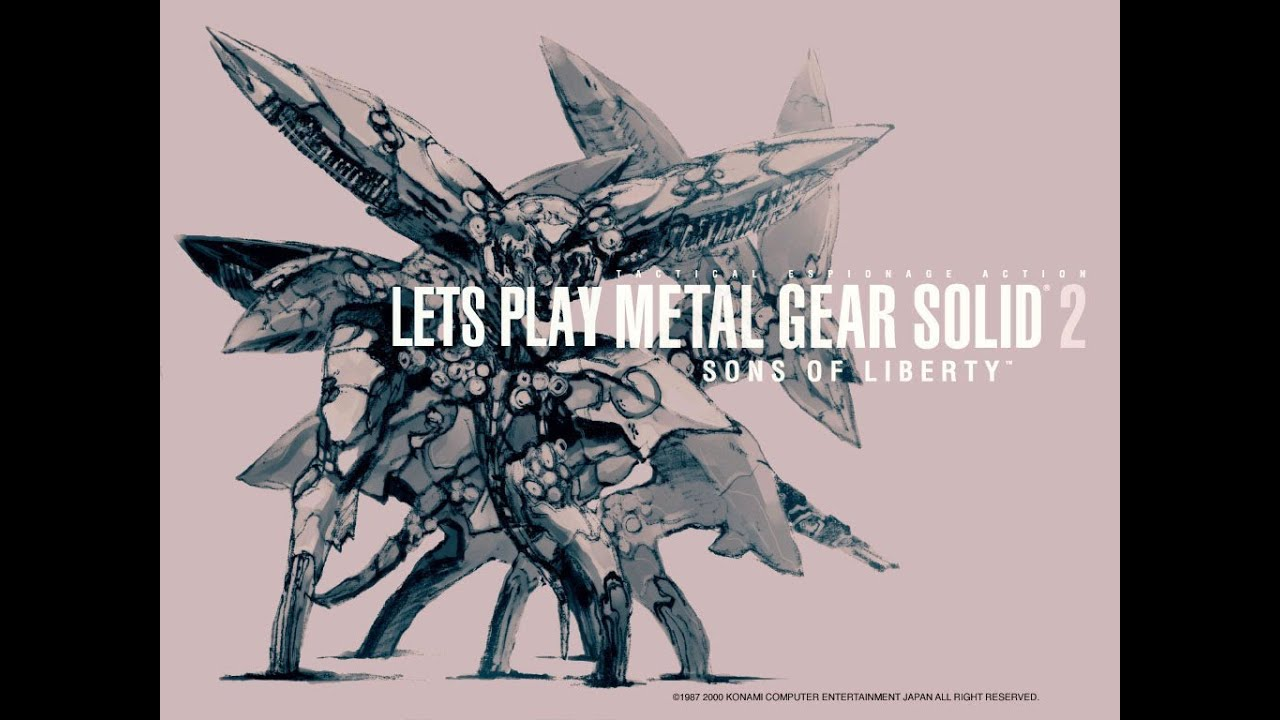 Metal Gear Solid 2 22 Escaping Arsenal Gear Youtube