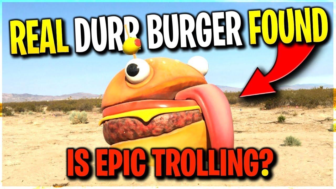 *REAL* DURR BURGER *FOUND* IN DESERT!