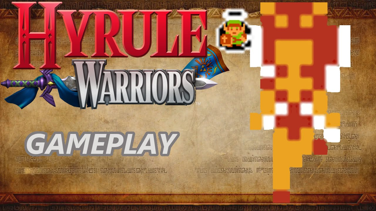 Hyrule Warriors Gameplay With Link And 8 Bit Fairy Youtube