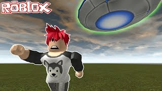 ALIEN KIDNAPS PEOPLE WITH A UFO on ROBLOX 👽