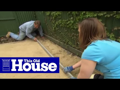 How to Build a Brick Patio - This Old House