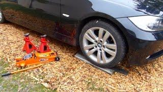 Comment lever et sécuriser une BMW E90