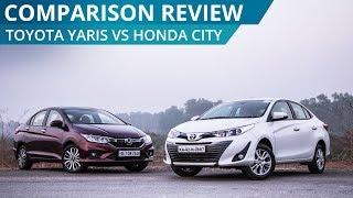 Toyota Yaris Vs Honda City   Comparison Review