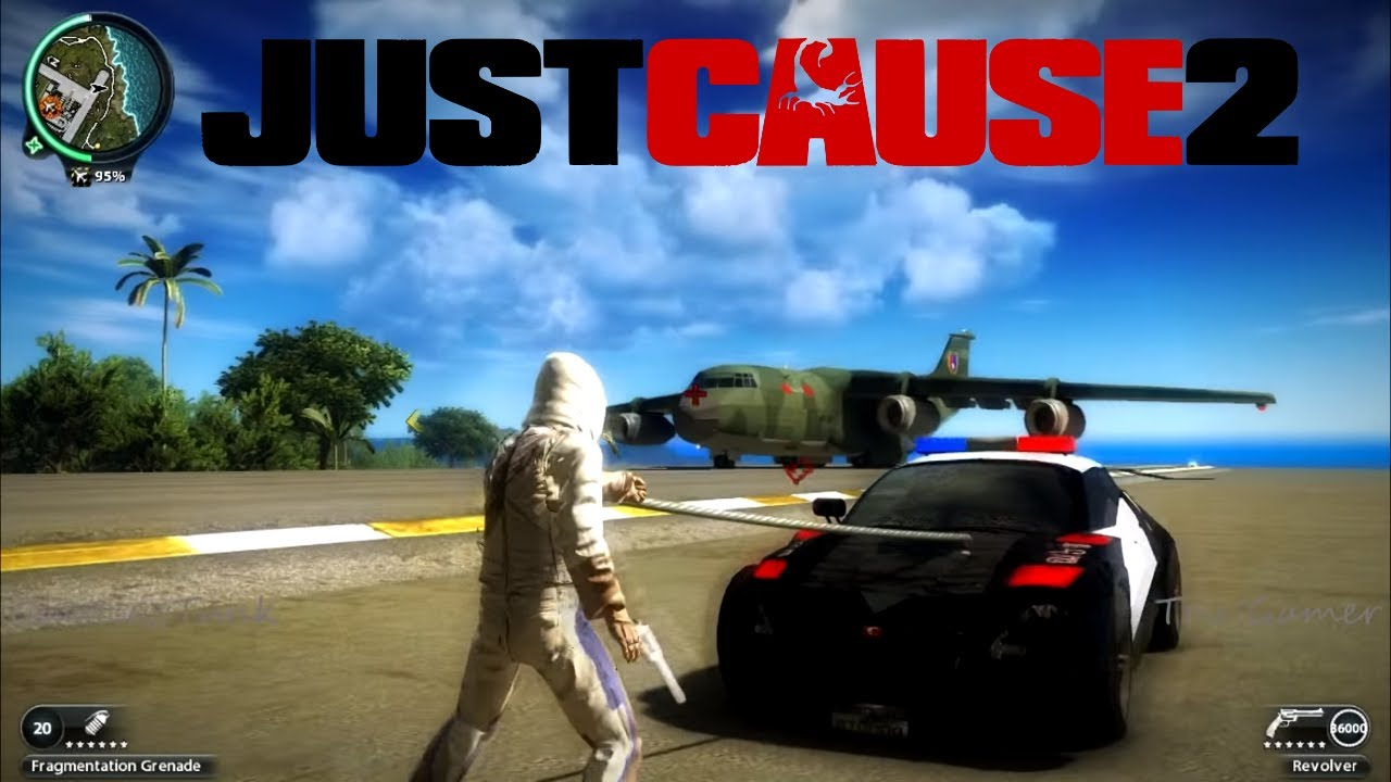 Just Cause  All Cars Mod