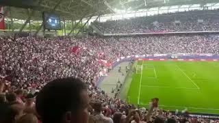 RB Leipzig Hymne live gegen FC Bayern
