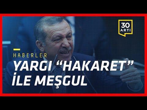 """Erdoğan'a """"hakaret"""" davaları… Adalet Yürüyüşü'nde provokasyon… """"Türkiye'de İnternet de özgür değil"""""""