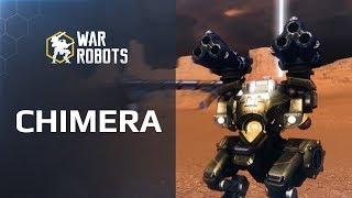 A heavy spiral? War Robots new weapon CHIMERA 🔥 in WR update 4.0