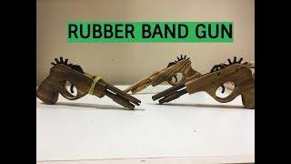 Classic Wooden Rubber band gun (arma de elástico)