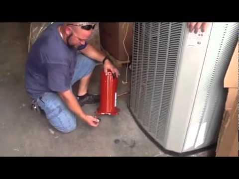 HVAC Trane Compressor Change Out