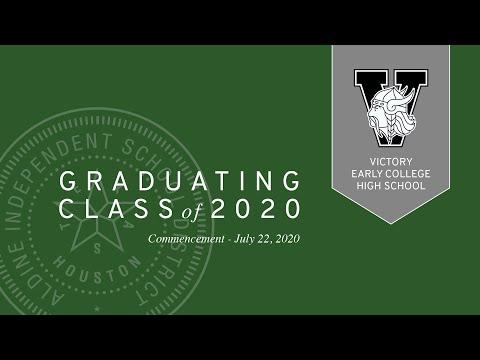 Victory Early College High School   Virtual Graduation 2020