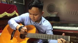 Solo Guitar bolero bằng 1 ngón tay - Hình bóng quê nhà