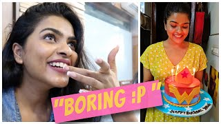 My *BORING* BIRTHDAY VLOG | Shopping, Meeting Subscribers, Packing For Trip, Customised Cakes..