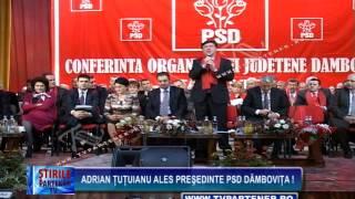 Adrian Ţuţuianu ales preşedinte PSD Dâmboviţa !