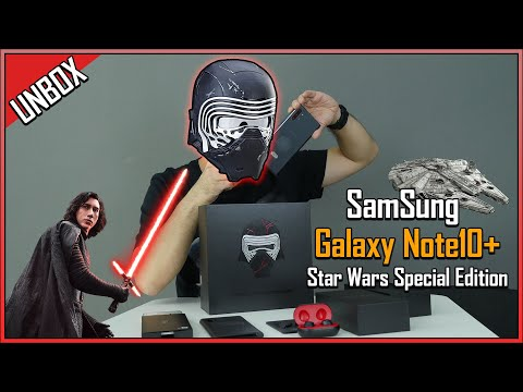 Galaxy Note 10  ลิมิเต็ด! Star Wars เหมาะกับผู้ชายรว้ายๆอย่างเเรา! - วันที่ 07 Jan 2020