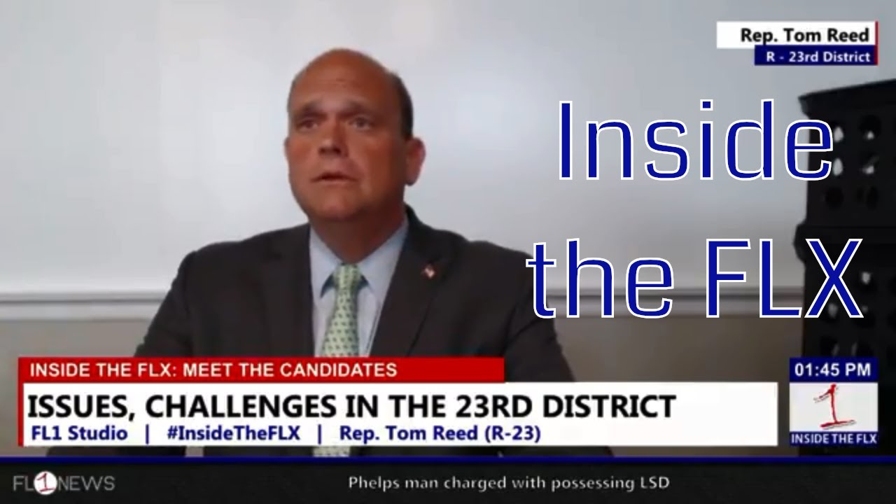 Rep. Reed talks campaign, politics, and future of 23rd .::. Inside the FLX 7/2/18