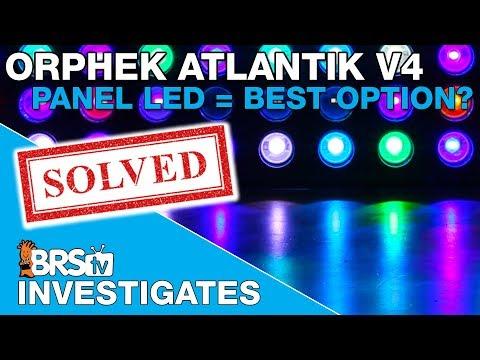 Testing the Orphek Atlantik V4: Is panel style LED lighting the best option?  | BRStv Investigates