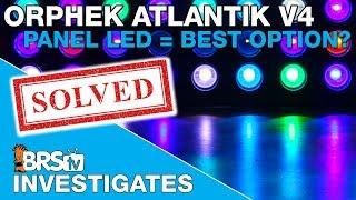testing the orphek atlantik v4 is panel style led lighting the best option brstv investigates