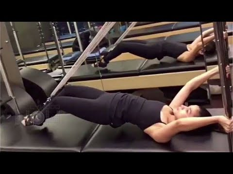 Alia Bhatt Butt Workout In Gym