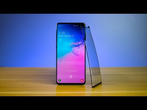 Will the Galaxy S10+ Fingerprint Scanner Work With a Screen Protector?