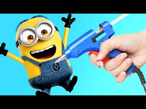 4 Amazing Minion Craft Ideas that you can make in less than 5 minutes