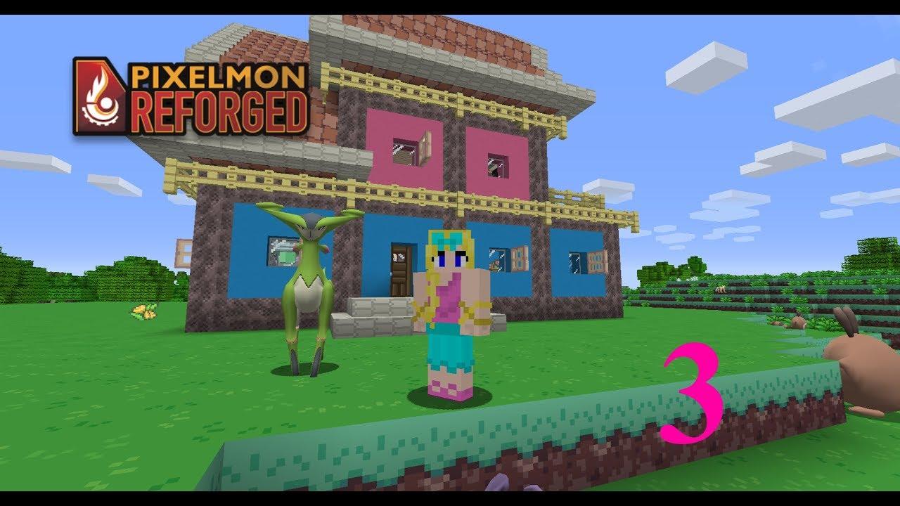 Pixelmon Reforged S1 Ep 3: Virizion, Piston, Slime Balls, And Etc