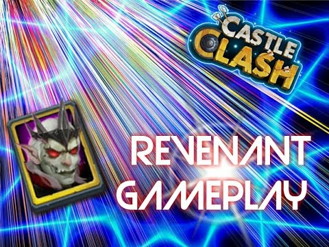 New Hero Revenant/Undead Cavalry Hero Review With Gameplay(Castle Clash)