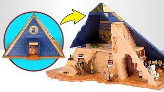 """ostruisci una Piramide e Scopri tutti i suoi Segreti con """"La Piramide del Faraone"""" della PLAYMOBIL"""
