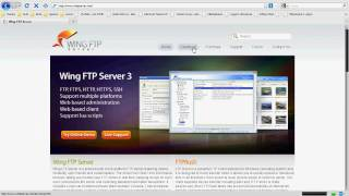 How to install Wing ftp server