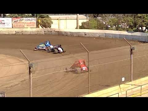 VRA Senior Sprint Car Hot Laps 08312019 Ventura Raceway
