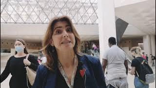 Пирамида Лувра. Представляет Валерия Пичугина - Мобек