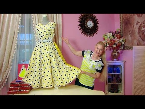 Шьем сами  Веселое летнее платье