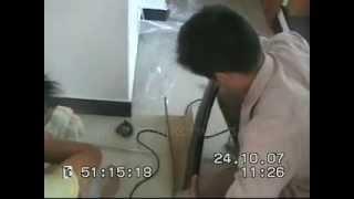 Поручень ПВХ Технология изгибания(Показана технология изгибания пластикового поручня для ограждений лестниц из ПВХ от компании МАГИЯ ДЕРЕВА..., 2009-11-04T21:08:00.000Z)