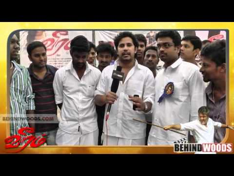 Thumbnail: Veeram Special Show Celebration @ Woodlands | Veeram | Ajith | Tamannah - BW