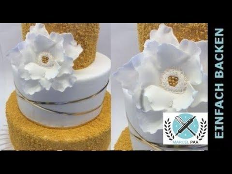 einfache und schnelle Fantasie Blume aus Blütenpaste | Einfach ...