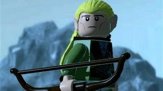 Taking The Hobbits To Isengard - In LEGO (HD 1080p)