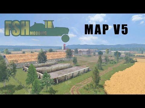 FSH Modding Map v5 - LS15 Mod | Mod for Farming Simulator 15