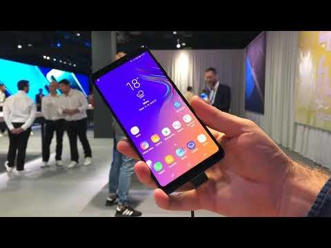 Samsung Galaxy A9 (prvý kontakt)