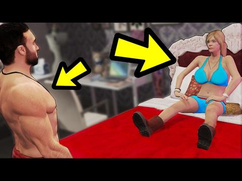 WHAT HAPPENS WHEN TRACEY LOCKS HER DOOR? (GTA 5)