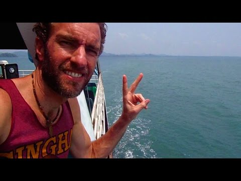 The Journey From Pattaya to Ko Chang Island, Thailand
